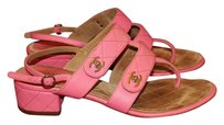 Chanel Buttery Leather Sandal pink Sandals