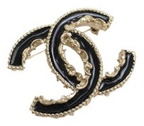 Chanel Chanel COCO Mark Broach Metal