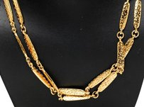 Chanel Chanel Gold Double Strand Necklace