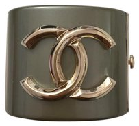 Chanel Chanel Golden CC Facet Cuff Bracelet Bangle