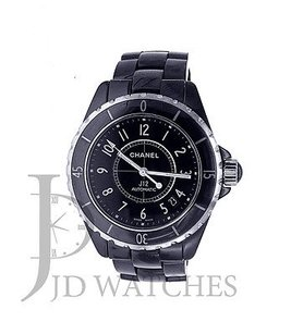 Chanel Chanel J12 Black Cermaic - 38mm Automatcic - H0685 Wrist Watch For Unisex