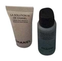 Chanel Chanel make up remover and cream Travel size Box and Pouch