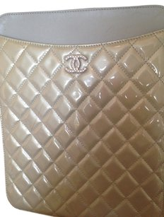 Chanel Chanel Patent Leather Ipad case