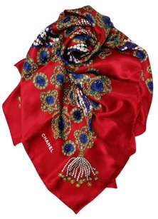 Chanel Chanel Scarf Silk Coco Chanel's Pearls Jewelled