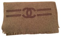Chanel Chanel Signature Double Side Logo Limited Edition 100% Cashmere Scarf