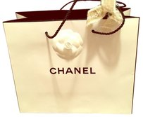 Chanel Chanel White Shopping Tote bag / Gift bag