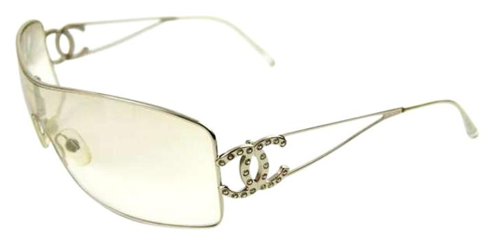 Chanel Clear Frame Glasses : Chanel Silver Toned Frames And Clear Toned Lenses ...