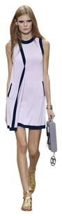 Chanel short dress purple on Tradesy