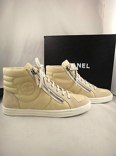 Chanel 15c Canvas Beige Athletic