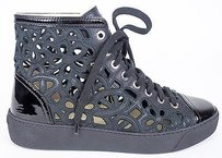 Chanel 14s Perforated Black Athletic