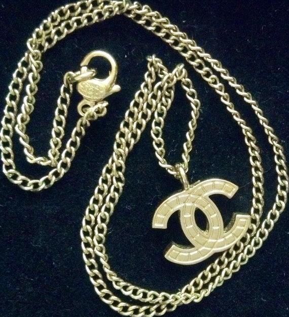 Chanel Gold Cc Logo Necklace Tradesy