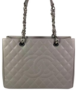 Chanel Gst Shopping Tote in Gray