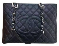 Chanel Gst Tote in Black