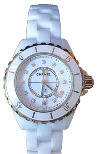 Chanel H1628 Chanel White ceramic Diamond Marker NEW Wrapped with Papers!