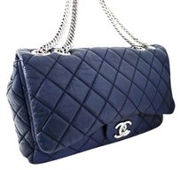 Chanel Lambskin Leather Jumbo Shoulder Bag