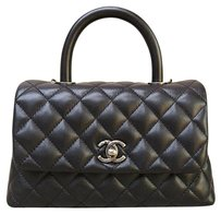 Chanel Like New 2016 Tote Satchel in black