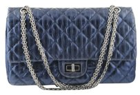 Chanel Limited Navy Shoulder Bag