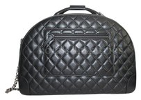 Chanel Luggage Carry On Mini Classic Woc black Travel Bag