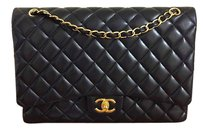 Chanel Maxi Double Flap Shoulder Bag
