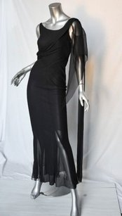 Blacks Maxi Dress by Chanel Long Black Evening