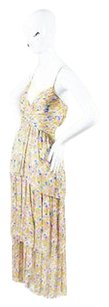Multi-Color Maxi Dress by Chanel Yellow Pink Blue