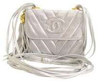 Chanel Metallic Leather Shoulder Bag