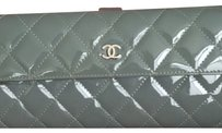 Chanel Patent Leather Long Wallet