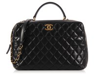 Chanel Quilted Cc Bowler Ch.k0922.04 Cross Body Bag