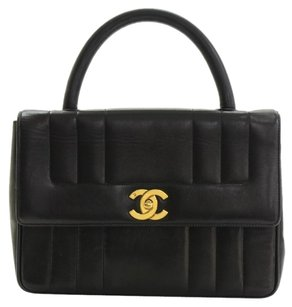 Chanel Quilted Leather Hand Baguette