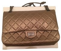 Chanel Reissue Satchel in bronze gold