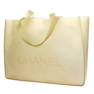 Chanel Rubber Tote in Brown