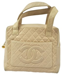 Chanel Satchel in Beiges