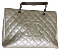 Chanel Satchel in Platinum