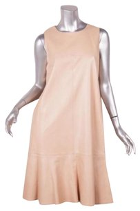 Chanel short dress Beige 01a Womens Nude on Tradesy