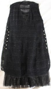 Chanel short dress Black Own The Room on Tradesy