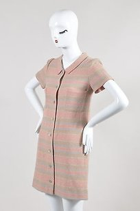 Chanel short dress Multi-Color 00c Tan Pink on Tradesy