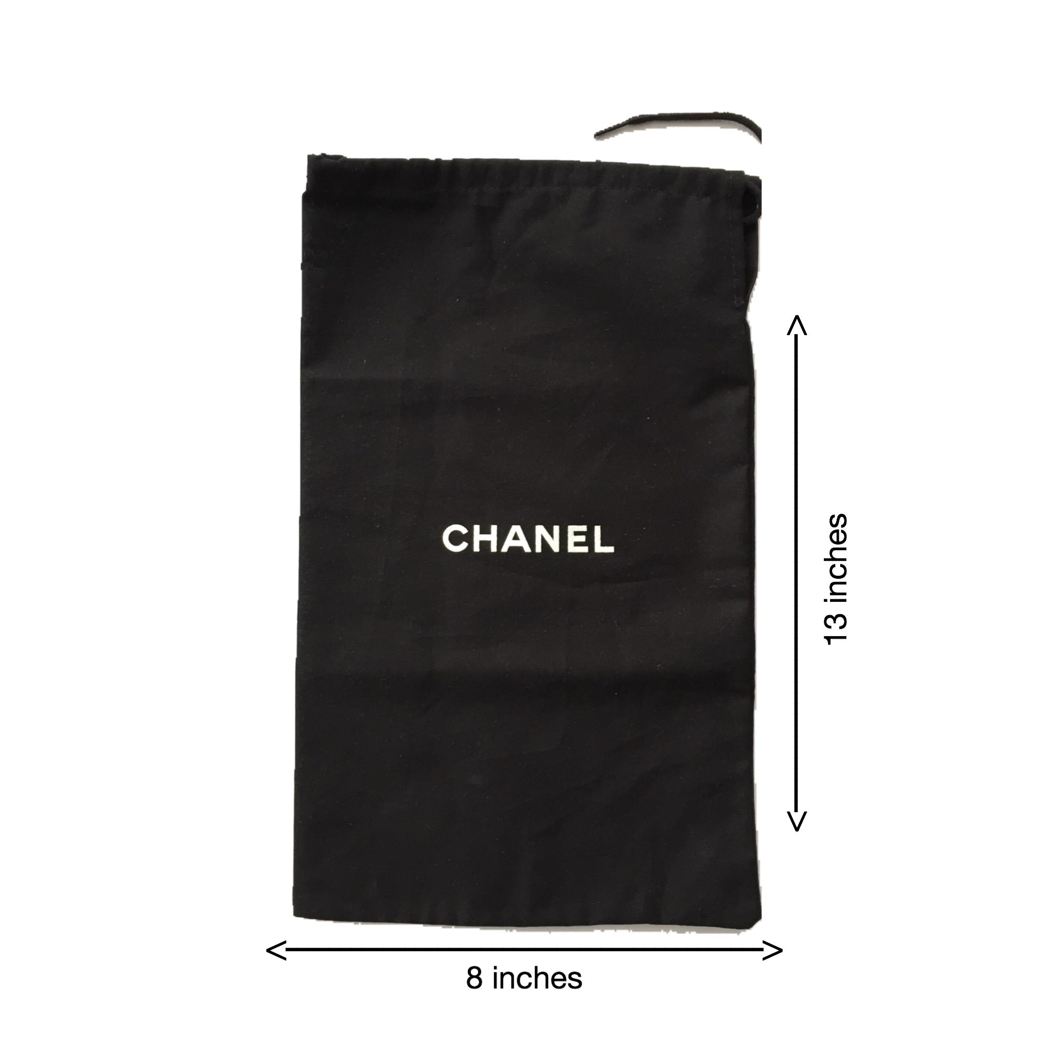 Chanel shoe dust bag