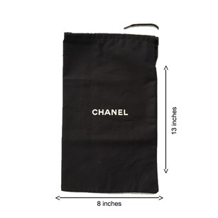 Chanel shoe dust bag Chanel shoe dust bag
