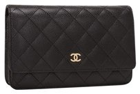 Chanel Wallet On Chain Caviar Leather Cross Body Bag