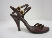 Charles David Brown Leather Browns Sandals