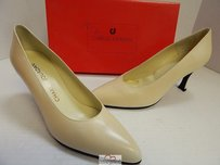 Charles Jourdan Vintage Bone Pumps