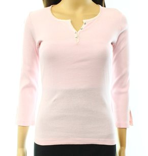 Charlotte Russe 100-cotton 3-4-sleeve Top