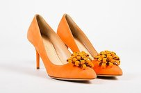 Charlotte Olympia Orange Pumps