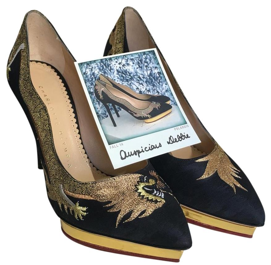 Charlotte Olympia Dolly Pumps Size US 4 Regular (M, B)