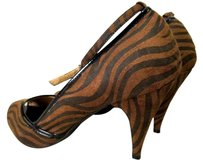 Charlotte Russe High Heels Brown Platforms