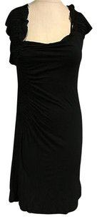 Charlotte Tarantola short dress Black Scoop Neck Sleeveless Textured Sma10491 on Tradesy