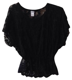 Charming Charlie Top Black