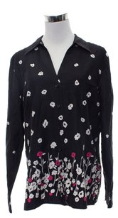 Charter Club Button Down Shirt Black