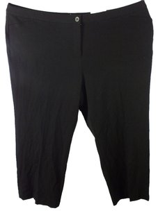 Charter Club Plus Size Fashions Trouser Pants Black