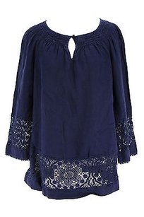 Charter Club Womens Blouse Tunic